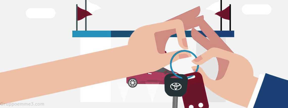 pay per drive Toyota alessandria