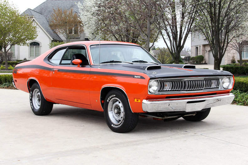 plymouth duster muscle car gruppoemme3 1974