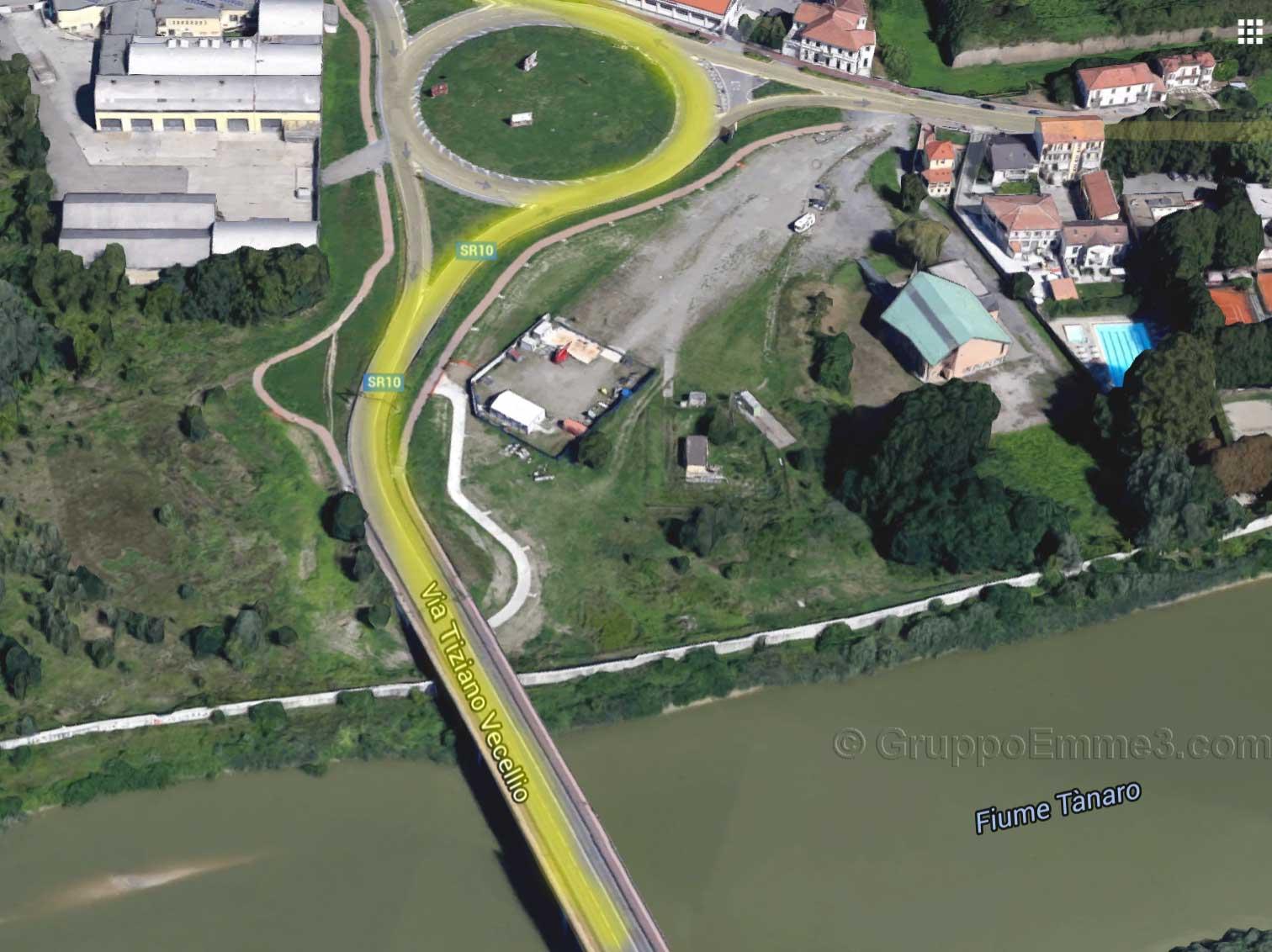 ponte meier ponte tiziano percorso giallo gruppo emme3 toyota