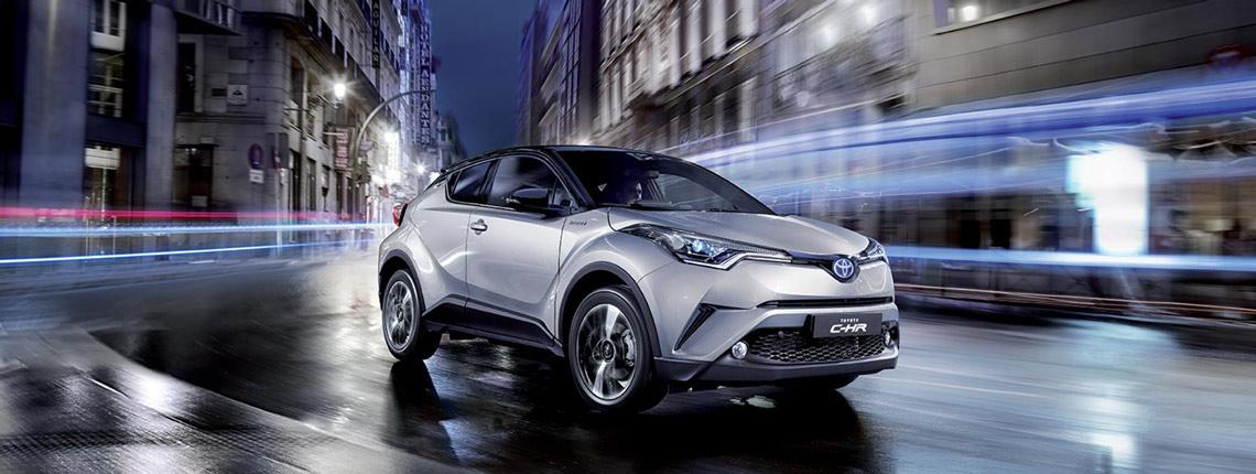 Toyota C-HR prezzi e dettagli