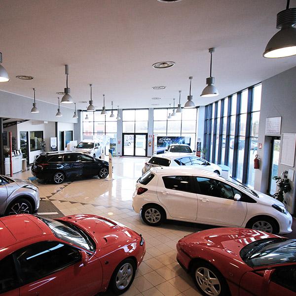 Gruppo Emme3 Toyota, interno della sede di Alessandria