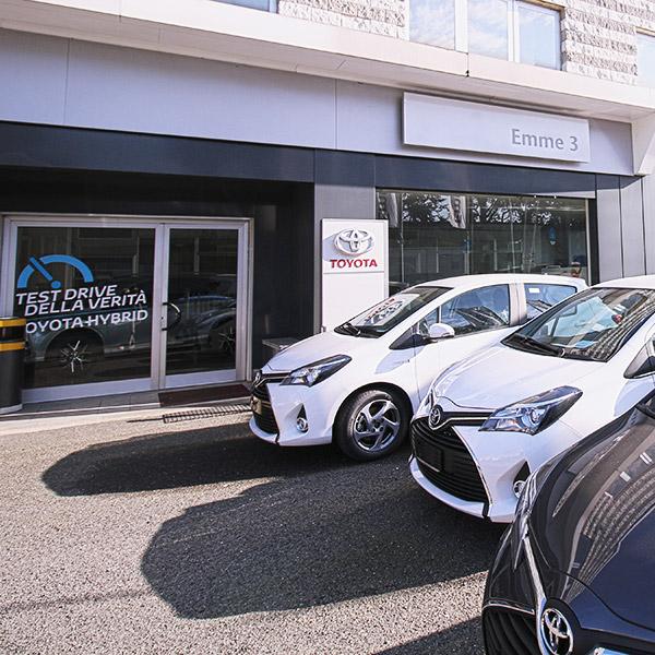 Gruppo Emme3 Toyota, esterno della sede di Novi Ligure