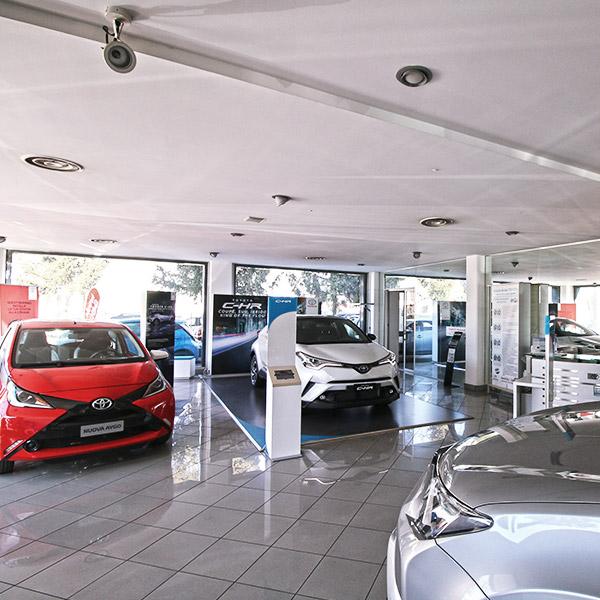 Gruppo Emme3 Toyota, interno della sede di Novi Ligure
